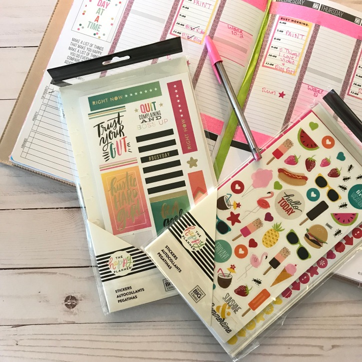 plan with me, passion planner, planner stickers, get organized, planner tips, planner ideas, rose gold passion planner, planner stickers from target, things I'm loving right now,