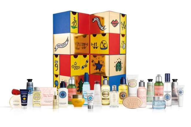 advent calendar, advent calendar 2018, best advent calendar 2018, beauty advent calendar 2018, holiday beauty products, l'occitane advent calendar, l'occitane beauty, l'occitane beauty products,
