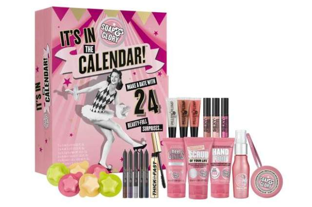 advent calendar, advent calendar 2018, best advent calendar 2018, beauty advent calendar 2018, holiday beauty products, soap and glory advent calendar,