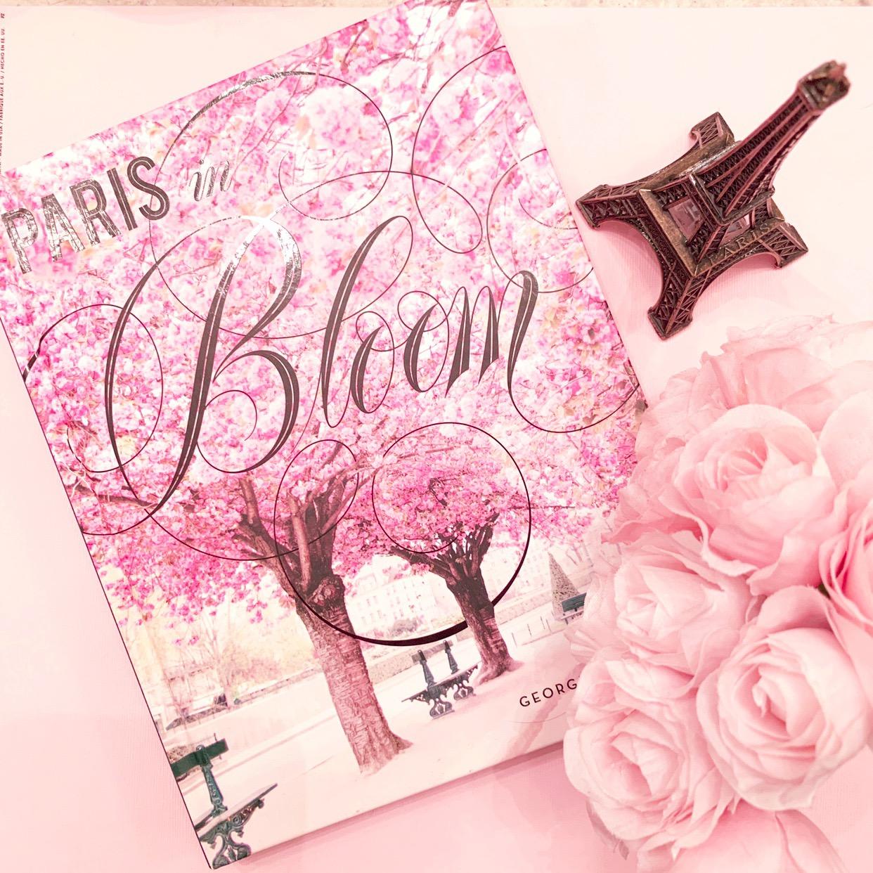 paris in bloom, paris, paris france, francophile, all pink everything, pink paris paris love, paris book, french book