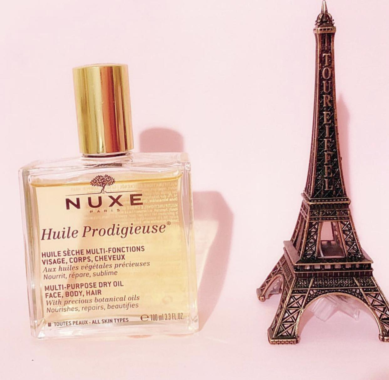 nuxe paris, nuxe, nuxe huile prodigieuse, nuxe multi purpose dry oil, nuxe oil,