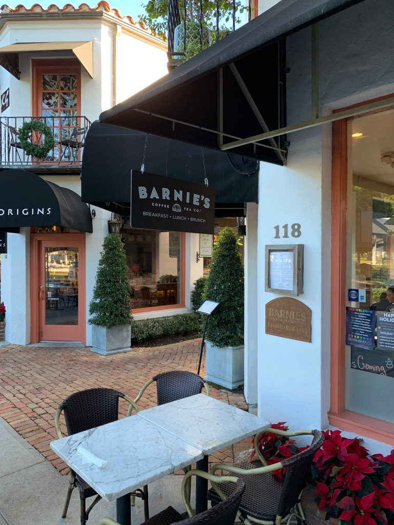 winter park, winter park florida, winter park coffee shop, barnies coffee and tea,