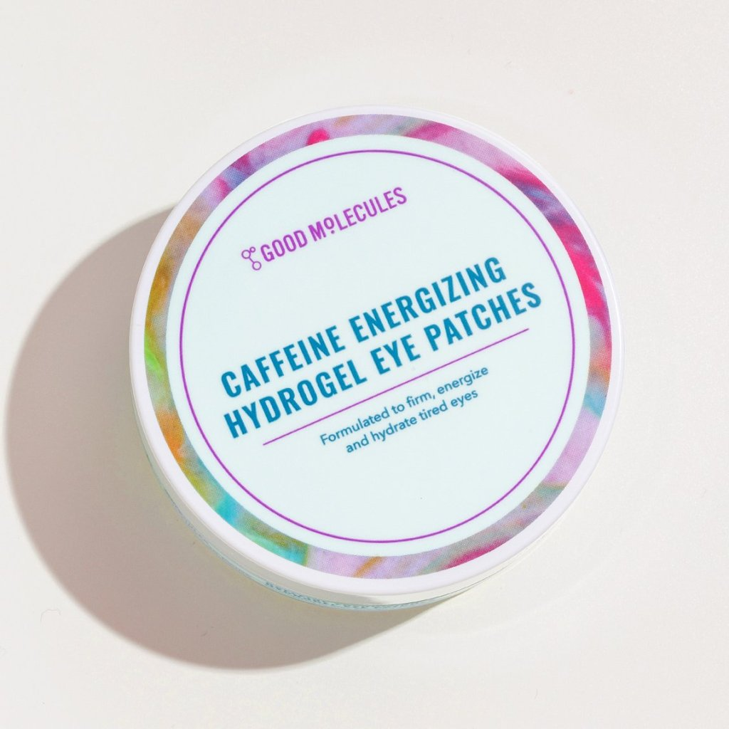good molecules, good molecules skincare, good molecules review, good molecules skincare review, clean beauty blog, clean beauty blogger, clean beauty skincare, good molecules caffeine energizing hydrogel eye patches,